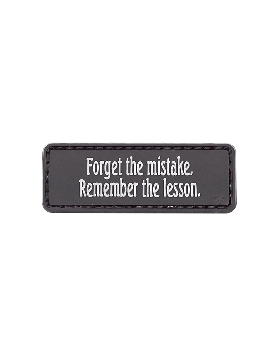 FORGET THE MISTAKE MORALE PATCH