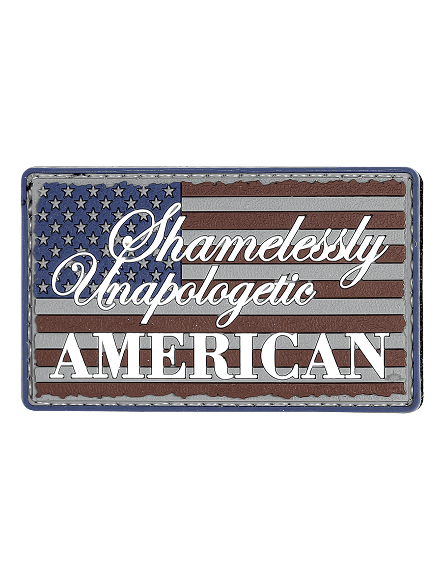 UNAPOLOGETIC AMERICAN MORALE PATCH