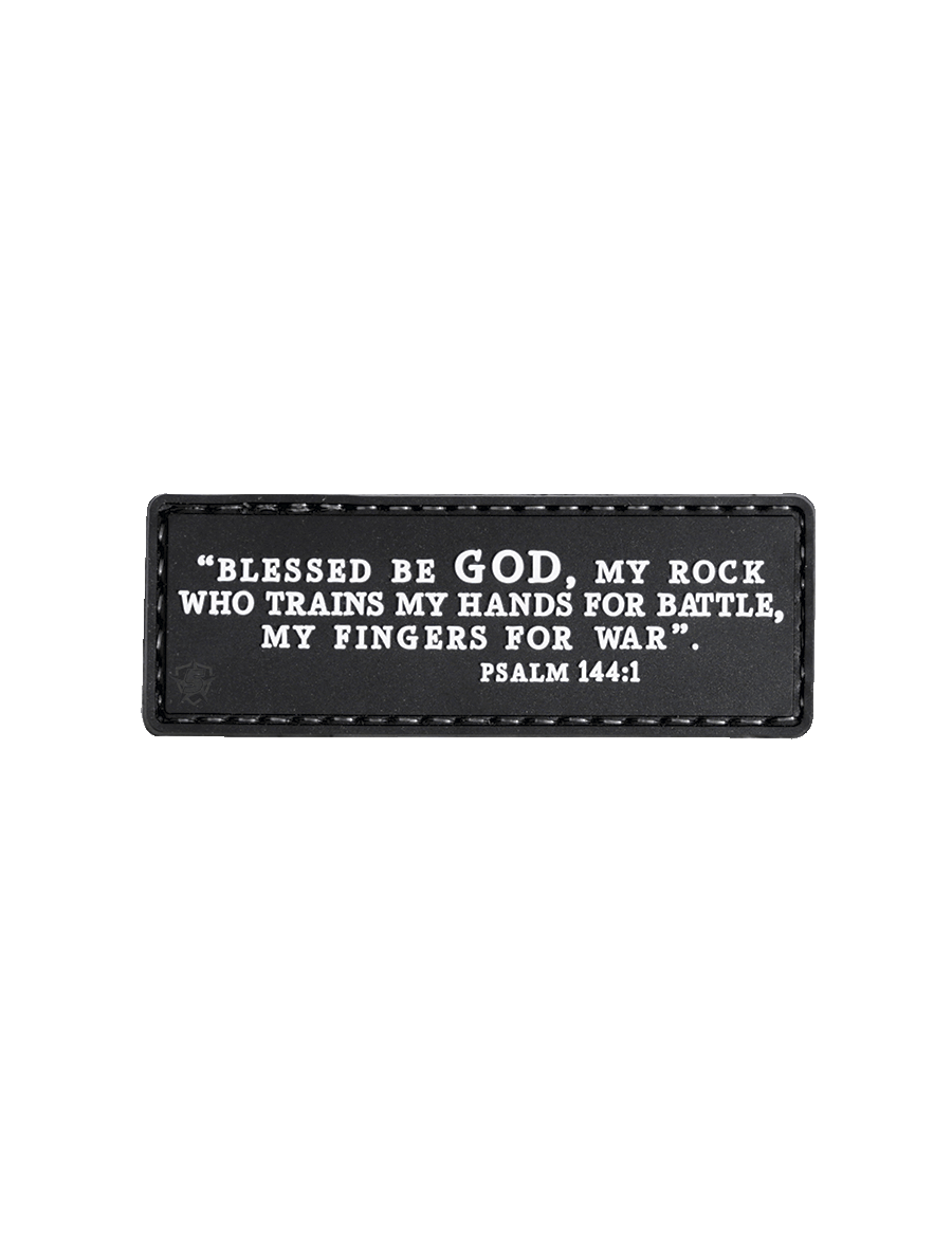PSALM 144:1 MORALE PATCH