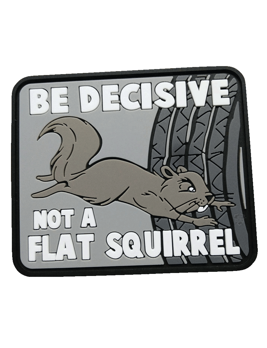 BE DECISIVE MORALE PATCH