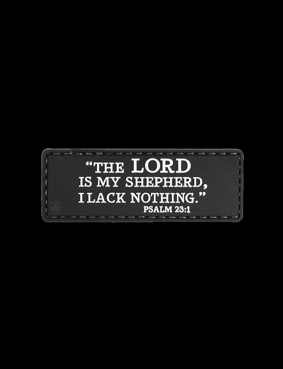 PSALM 23:1 MORALE PATCH