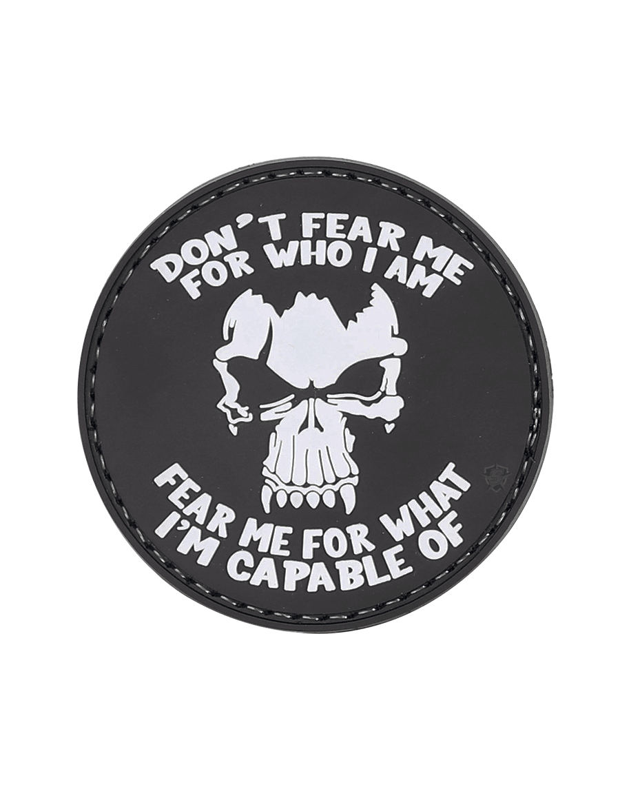 DON'T FEAR ME MORALE PATCH