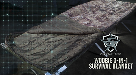 WOOBIE 3-IN-1 SURVIVAL BLANKET