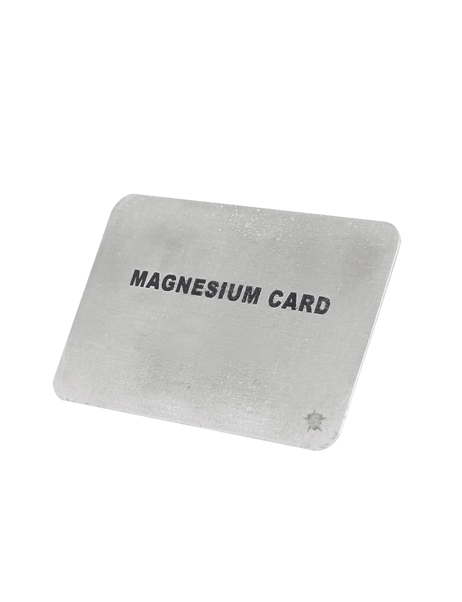 MAGNESIUM FIRE CARD