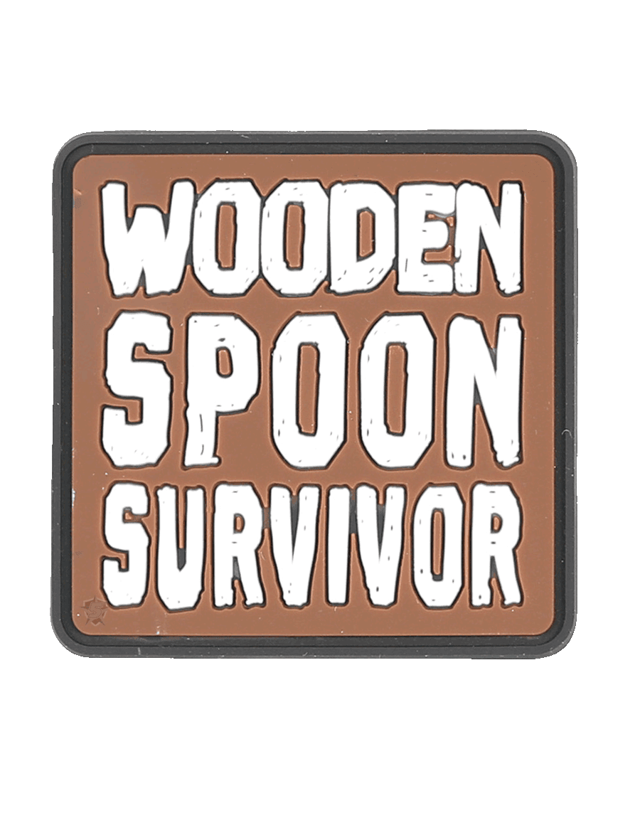 WOODEN SPOON MORALE PATCH