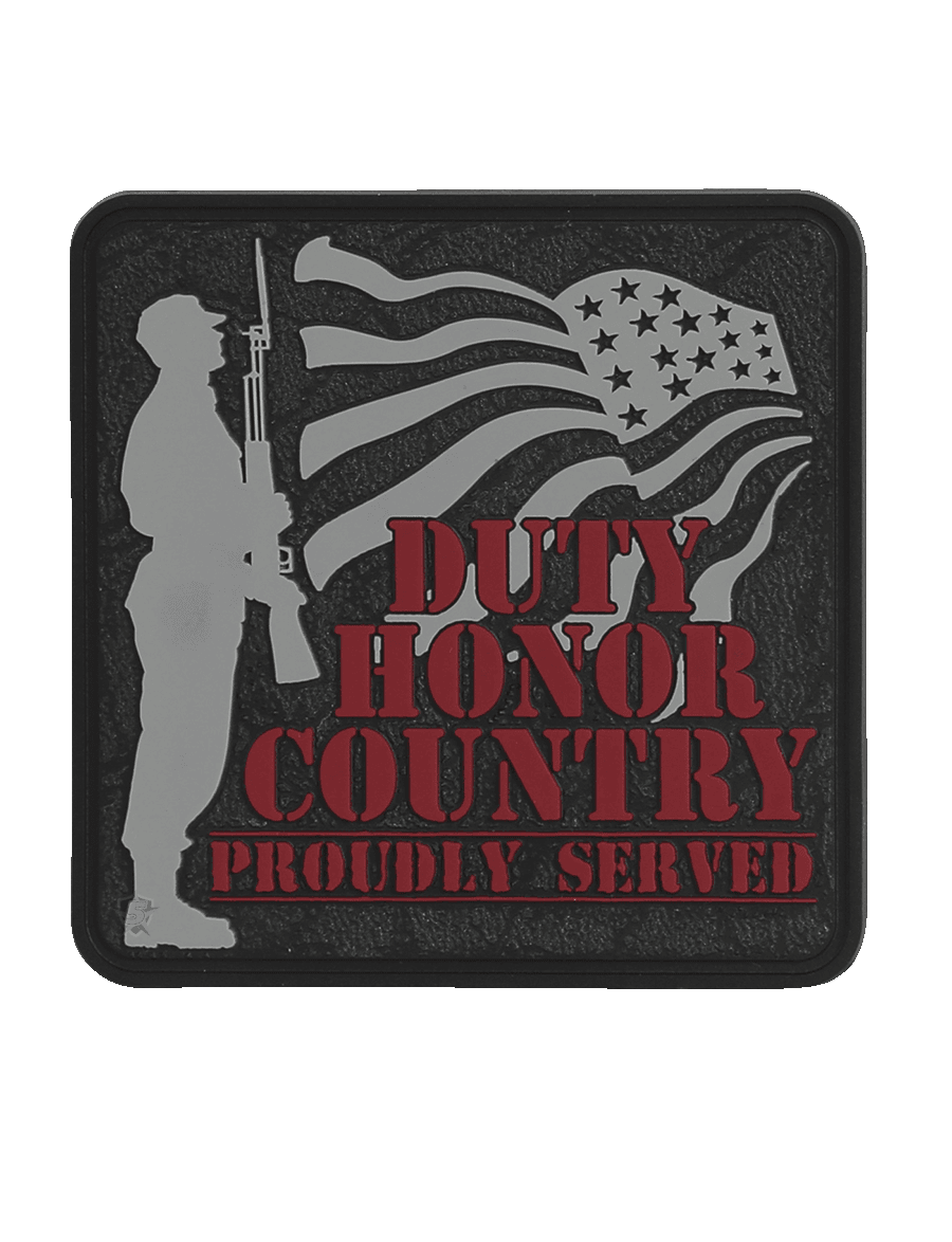 DUTY HONOR MORALE PATCH