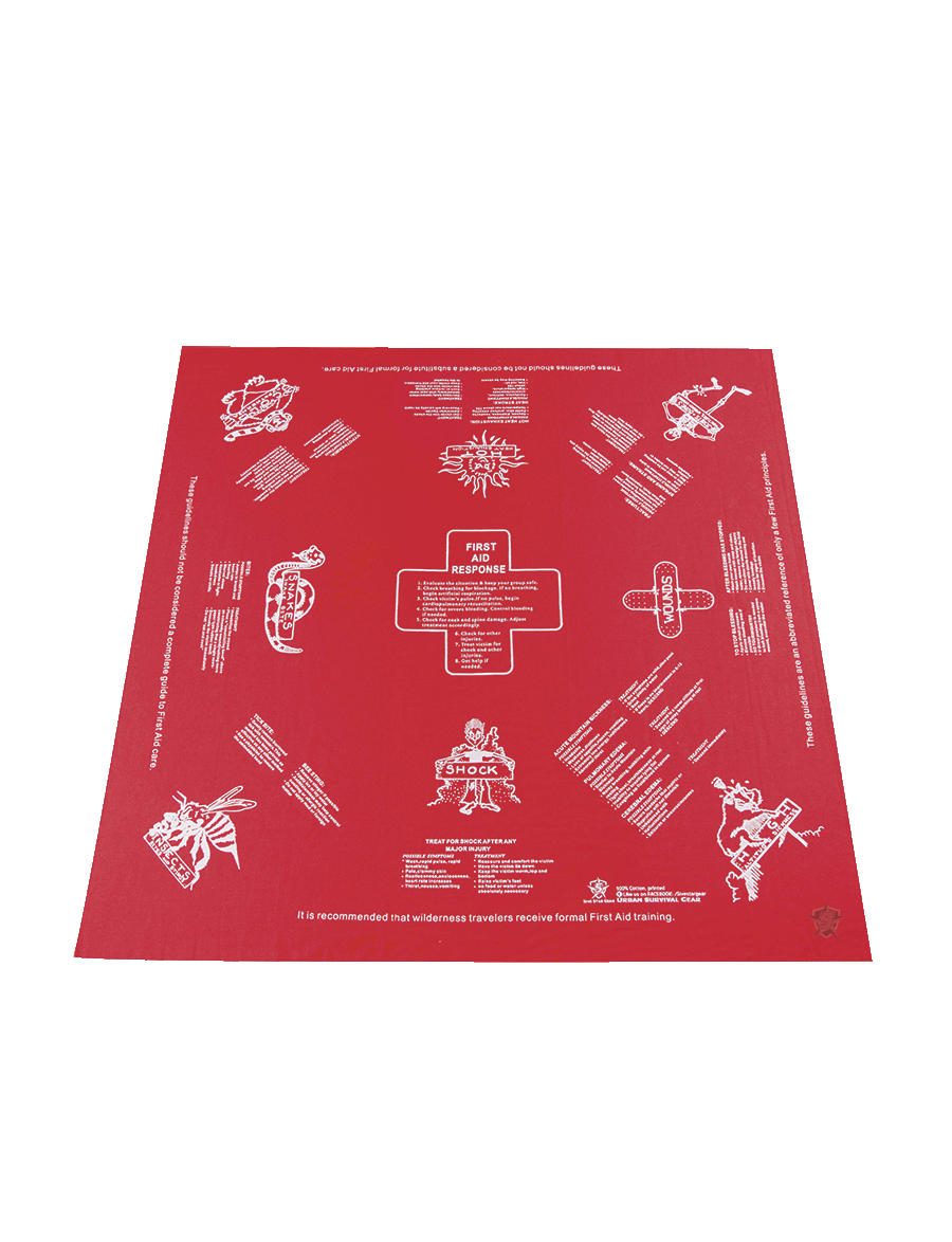 FIRST AID SURVIVAL HANDKERCHIEF