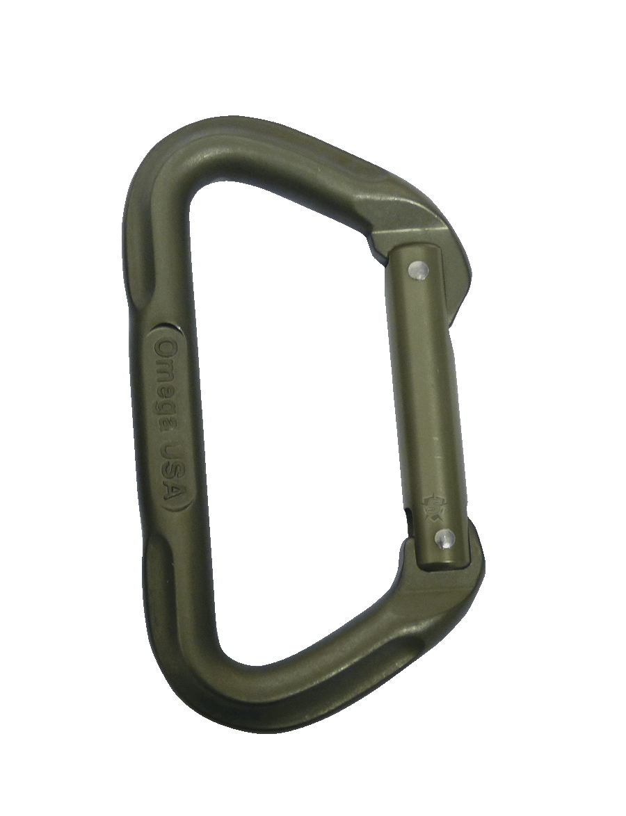 OMEGA PACIFIC® 7000 SERIES TACTICAL D CARABINER