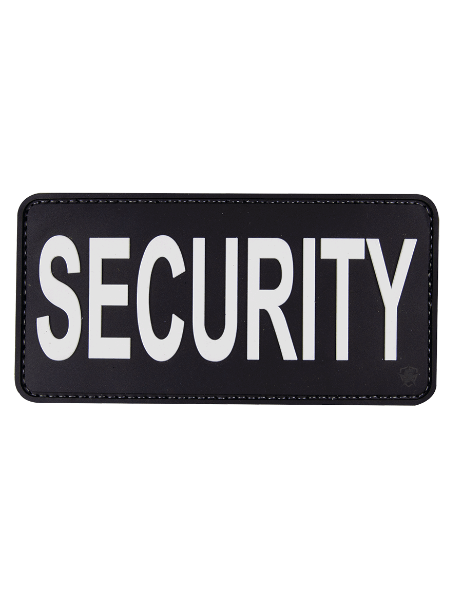 "SECURITY 6""X3"" MORALE PATCH"