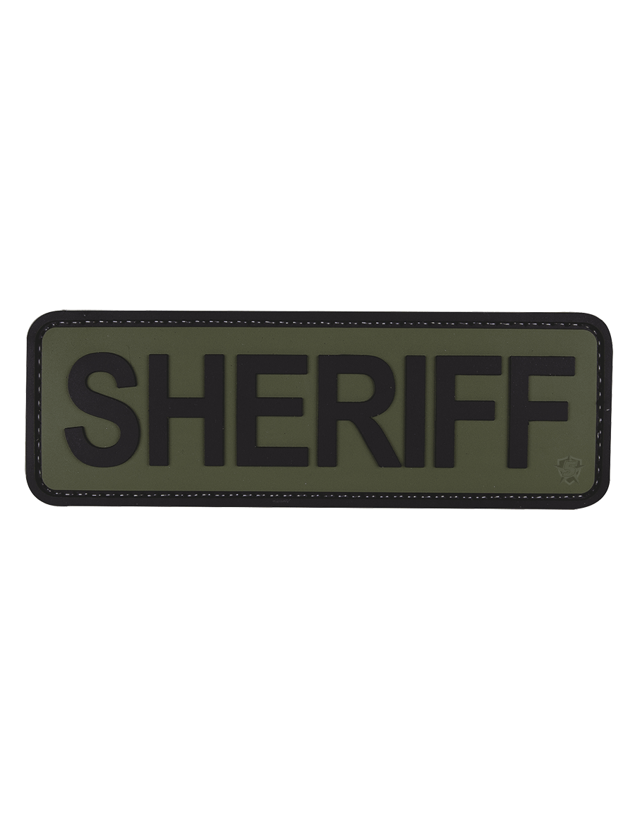 "SHERIFF 6""X2"" MORALE PATCH"