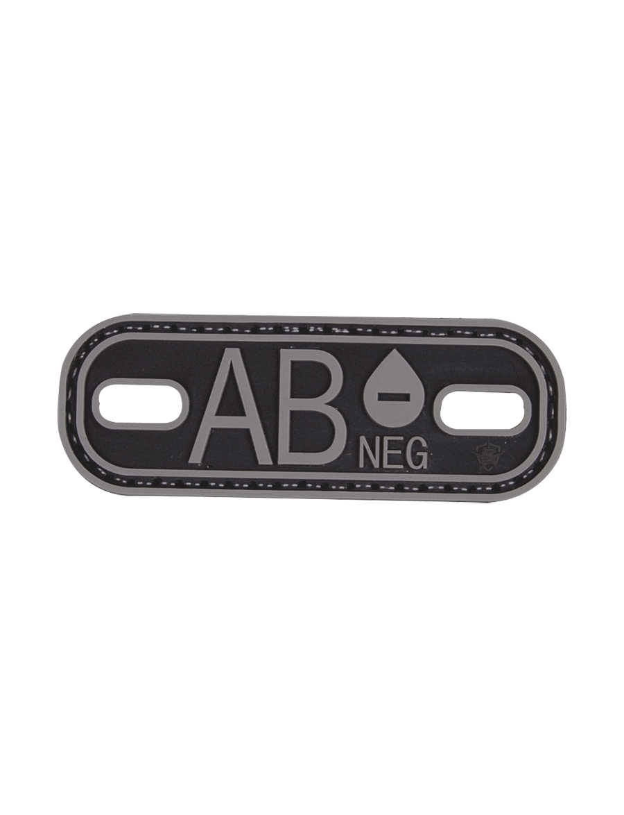 BLOOD TYPE AB- MORALE PATCH