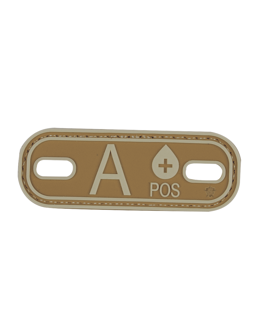 BLOOD TYPE A+ MORALE PATCH