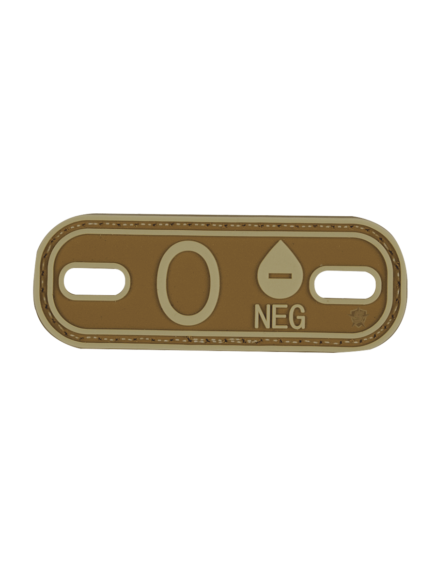 BLOOD TYPE O- MORALE PATCH