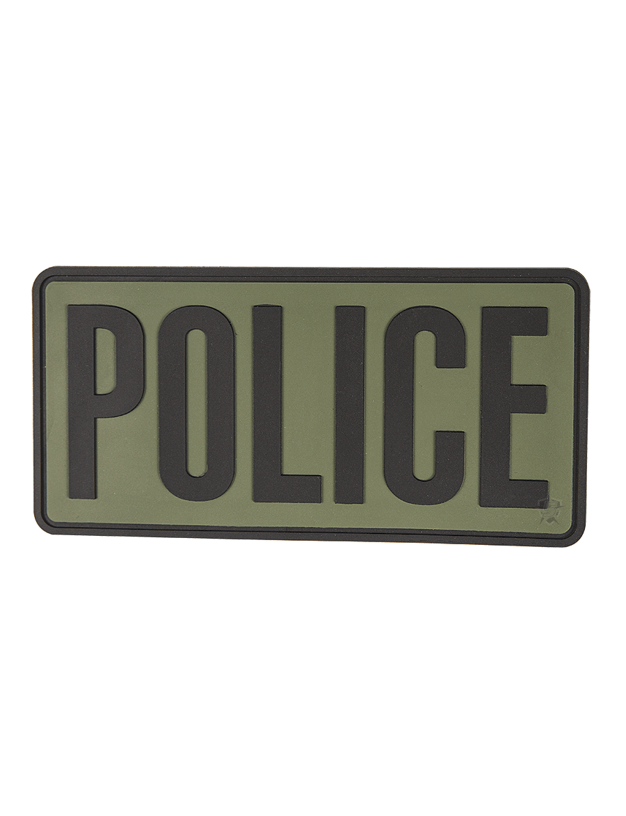 "POLICE 6""X3"" MORALE PATCH"