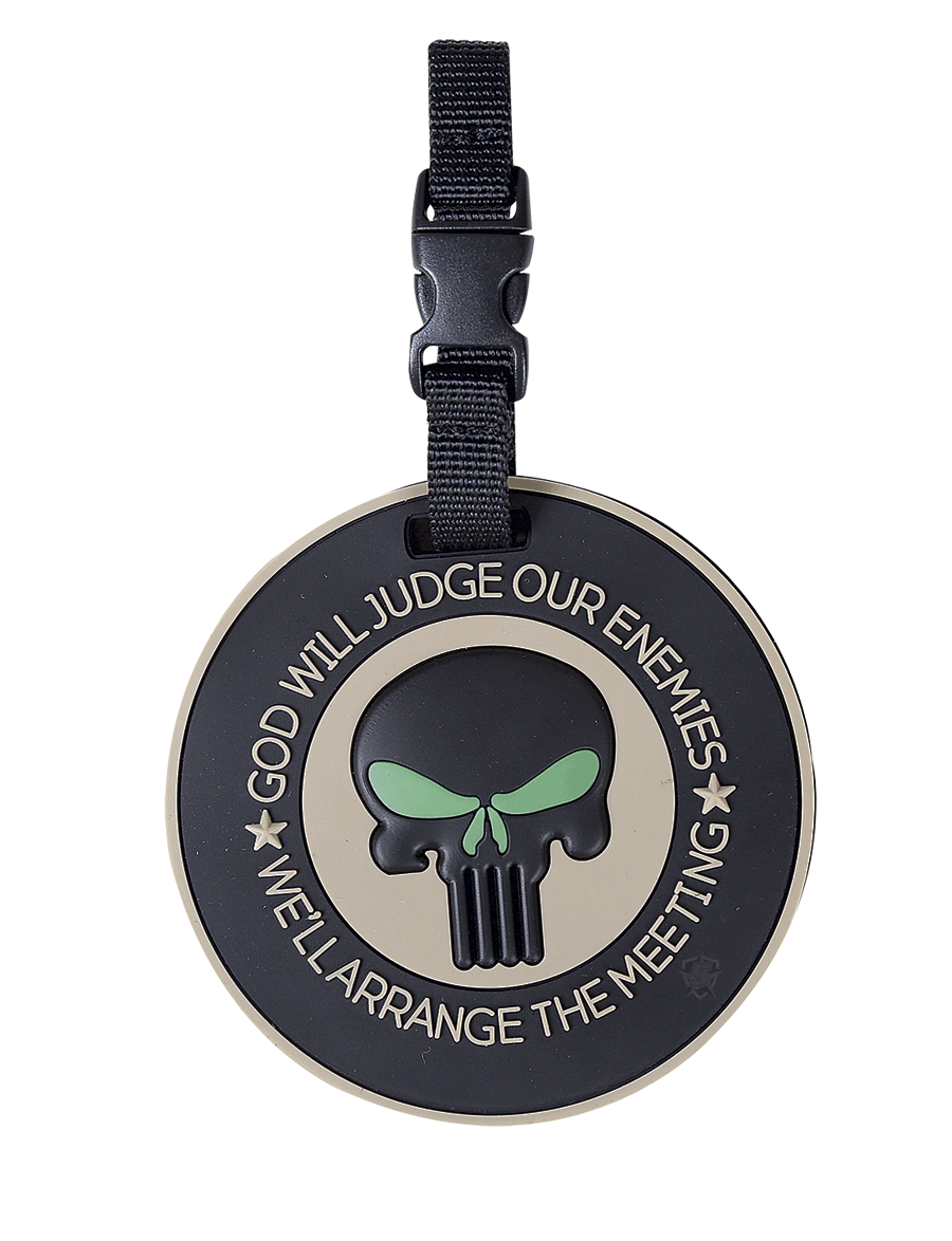 PUNISHER ENEMIES LUGGAGE TAG