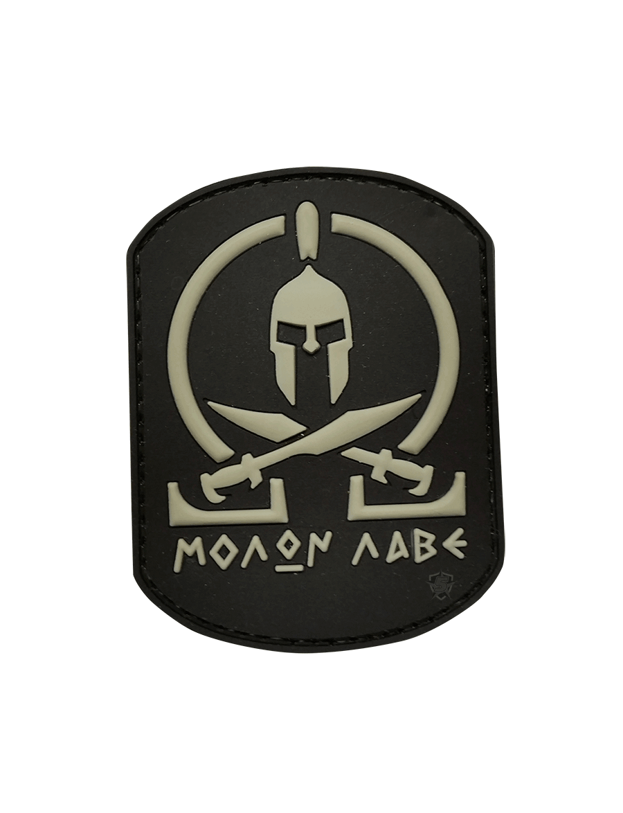 BLACK MOLON LABE MORALE PATCH
