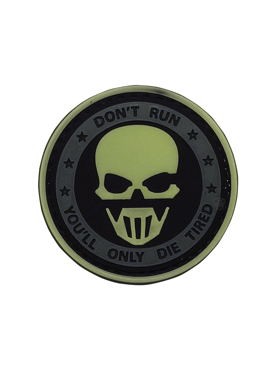 DON'T RUN - GHOST NIGHT GLOW MORALE PATCH