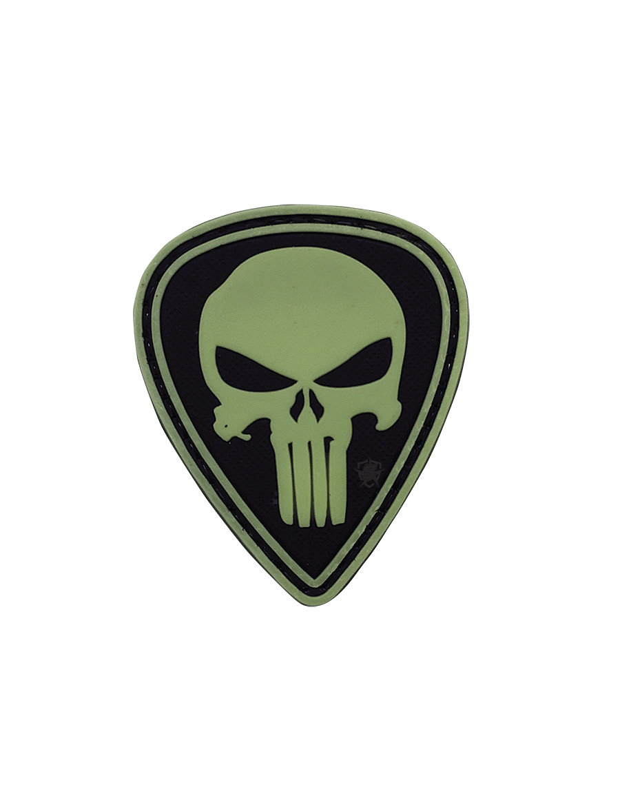 PUNISHER DIAMOND NIGHT GLOW MORALE PATCH
