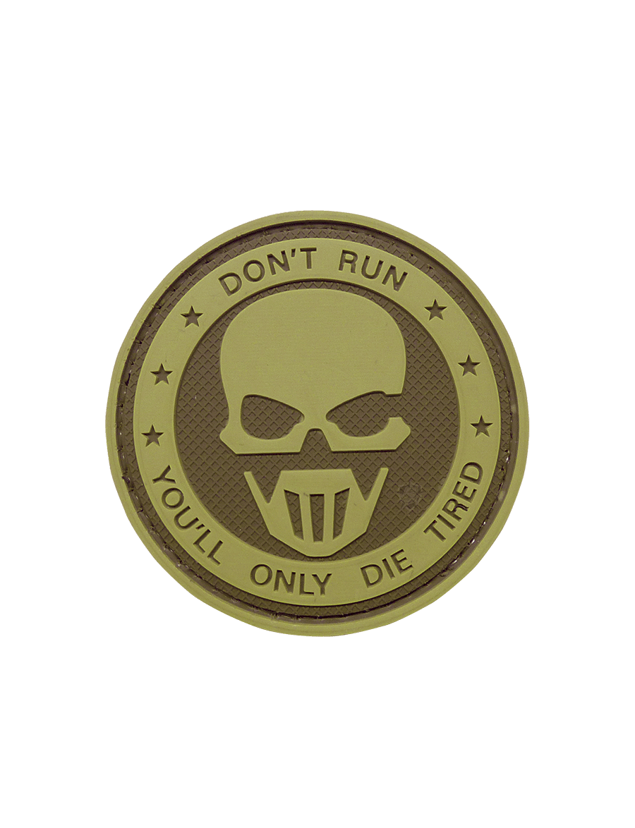 DON'T RUN - GHOST MORALE PATCH