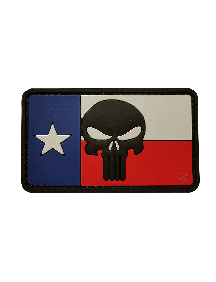 PUNISH TEXAS FLAG MORALE PATCH