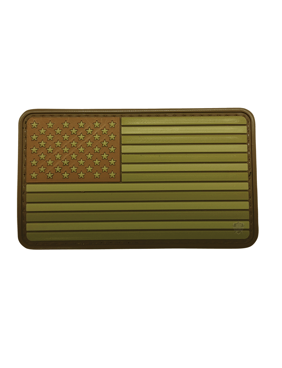 U.S. FLAG SUBDUED MULTI MORALE PATCH