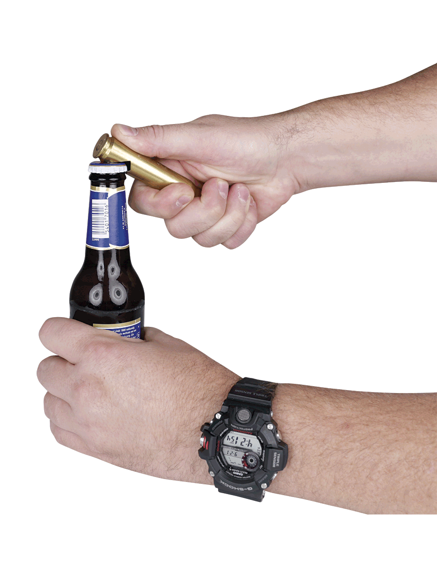.50 CALIBER BMG BOTTLE OPENER