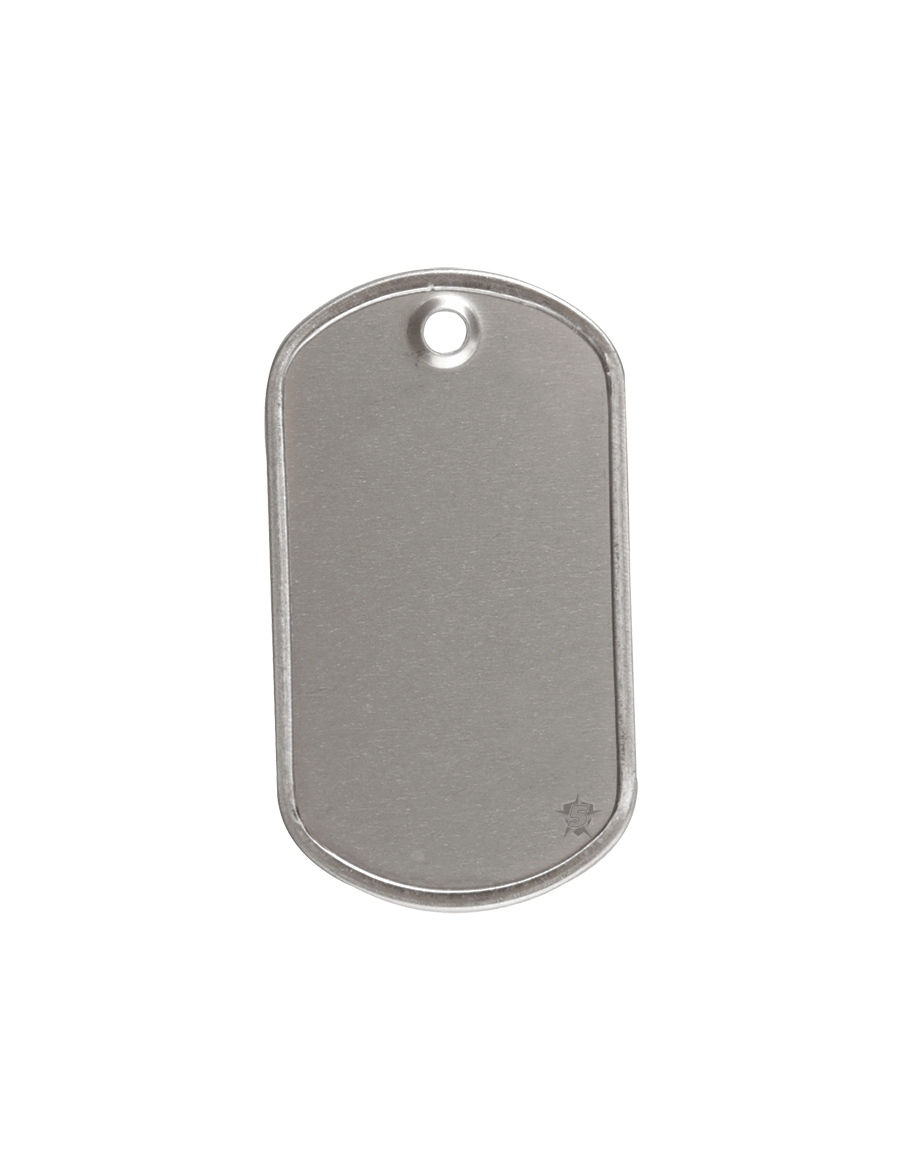 GI STAINLESS STEEL DOG TAGS