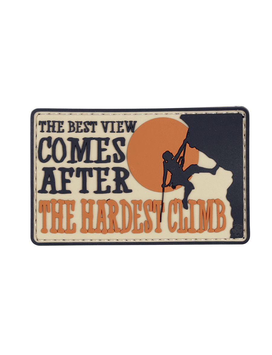 THE HARDEST CLIMB MORALE PATCH